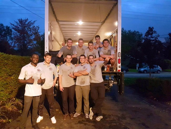 Hercules piano moving team